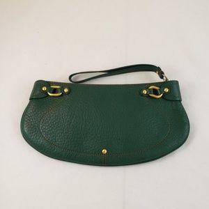 Cole Haan Village Green Leather Wristlet